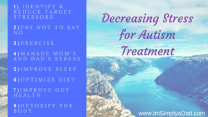 decreasing stress for autism