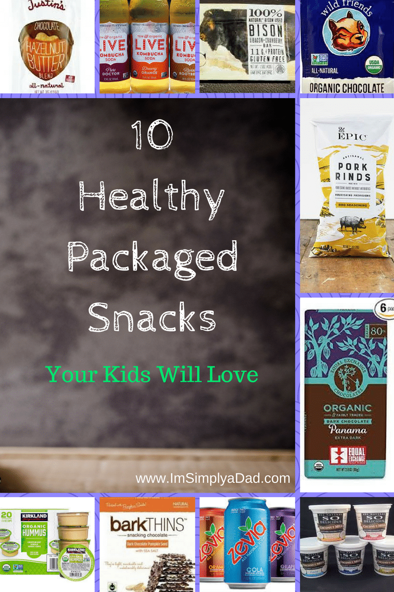 healthy packaged snacks