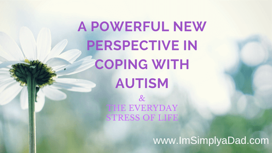 Coping with Autism Perspective image of flower