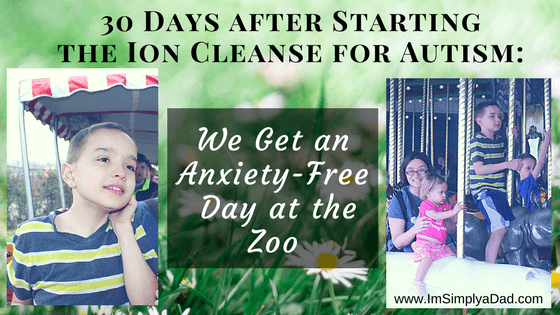 Ion Cleanse for Autism after 30 days